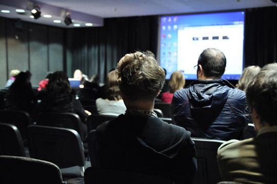 No Commission című, egynapos konferencia a Műcsarnokban | fotó: Gulyás Gábor