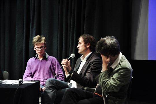 Clemens von Wedemeyer, Petrányi Zsolt, Keserue Zsolt | fotó: Gulyás Gábor