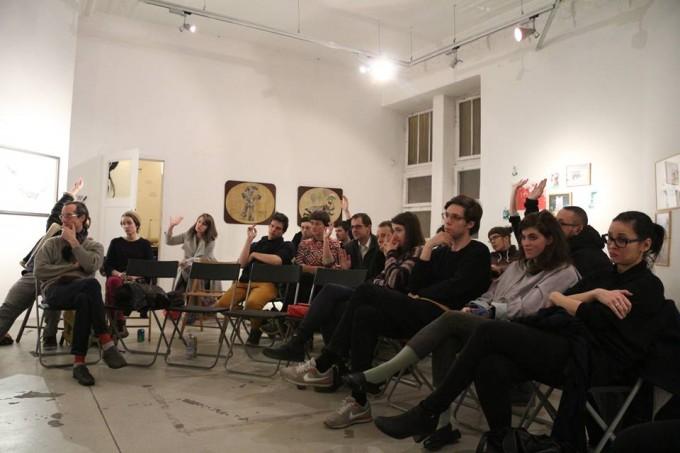 Mit tegyünk?, 2016. január 13., FKSE - Stódió Galéria. Fotó: Simon Zsuzsanna