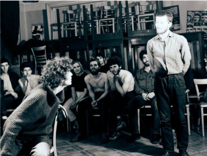 Állókép az Orfeó csoport című filmből (2009,  Rendező: Nemes István, Duna Műhely)