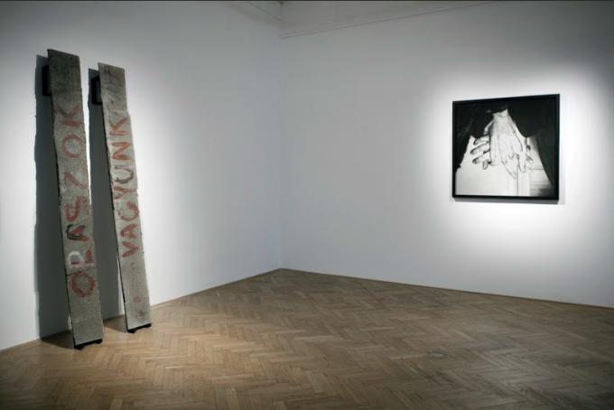 Jelentés, kiállítási enteriőr, 2016, Capa Központ, Budapest. Fotó: Esterházy Marcell