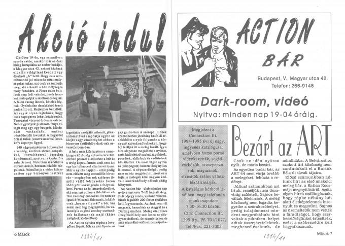 Action - Mások, 1994-11