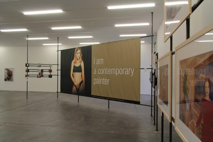 Nagy Kriszta x-T plakátja a történeti kiállításban © Manifesta 11
