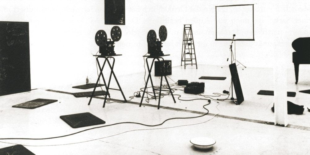 Joseph Beuys: Das Kapital, 1970-77, 1981-es installáció Zürichben. Forrás: kunstforum.de