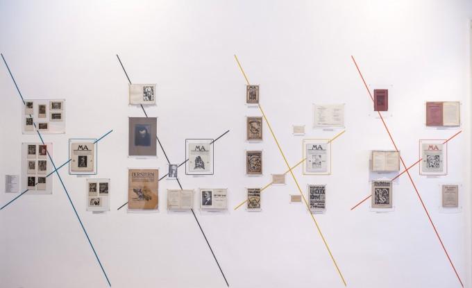 Ma kiállítás a Kassák Múzeumban. Fotó: Simon Zsuzsanna