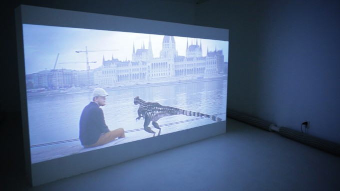 András Cséfalvay: Compsognation, a Dinosaur's View of the Nation State, 2013