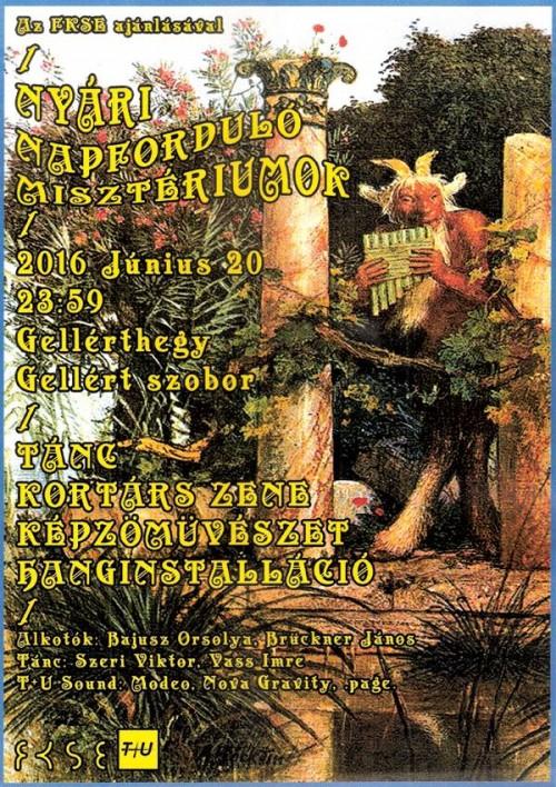 A tavalyi ünnep plakátja