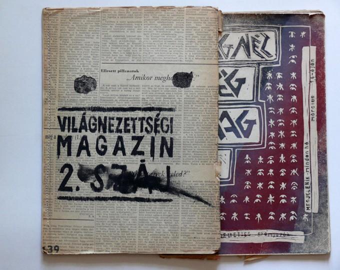 Világnézettségi Magazin, 1984-85, részletek. Fotó: Várnagy Tibor