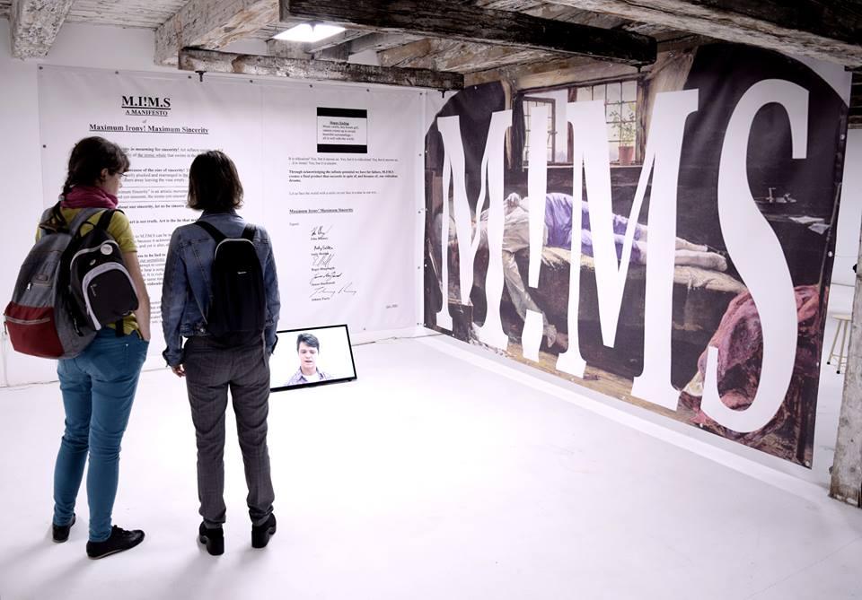 Forecasting a Broken past, kiállítás enteriőr