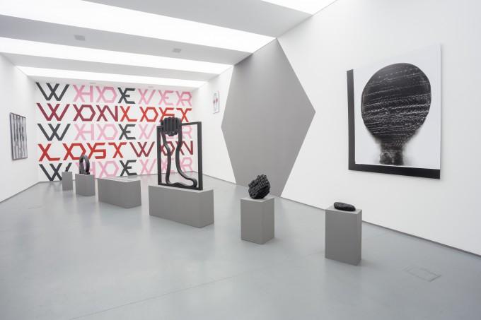 X̣ - Gróf Ferenc kiállítása, acb galéria. © az OFF-Biennále jóvoltából, fotó: Zellei Boglárka