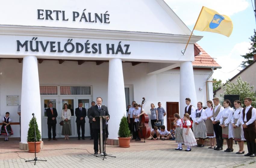 Litéri Ertl Pálné Művelődési Ház, forrás